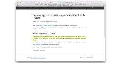 Use iTunes to manage iOS apps again!