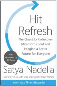 Nadella's book: Hit Refresh