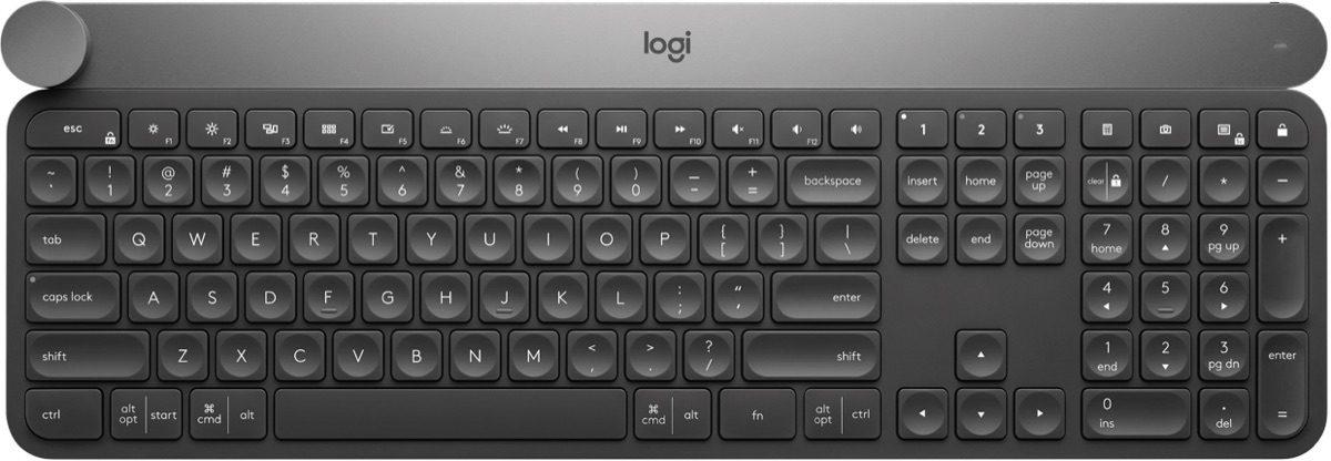 Logitech CRAFT Keyboard.