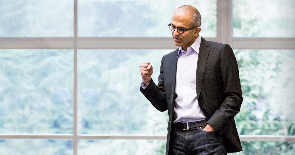 MSFT CEO Satya Nadella