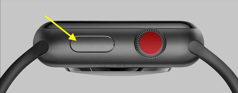Apple Watch Side Button on Watch
