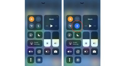 iOS 11 Airplane Mode persistent settings