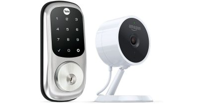 Amazon Key includes a third-party smartlock and Amazon Cloud Cam (Key Edition)