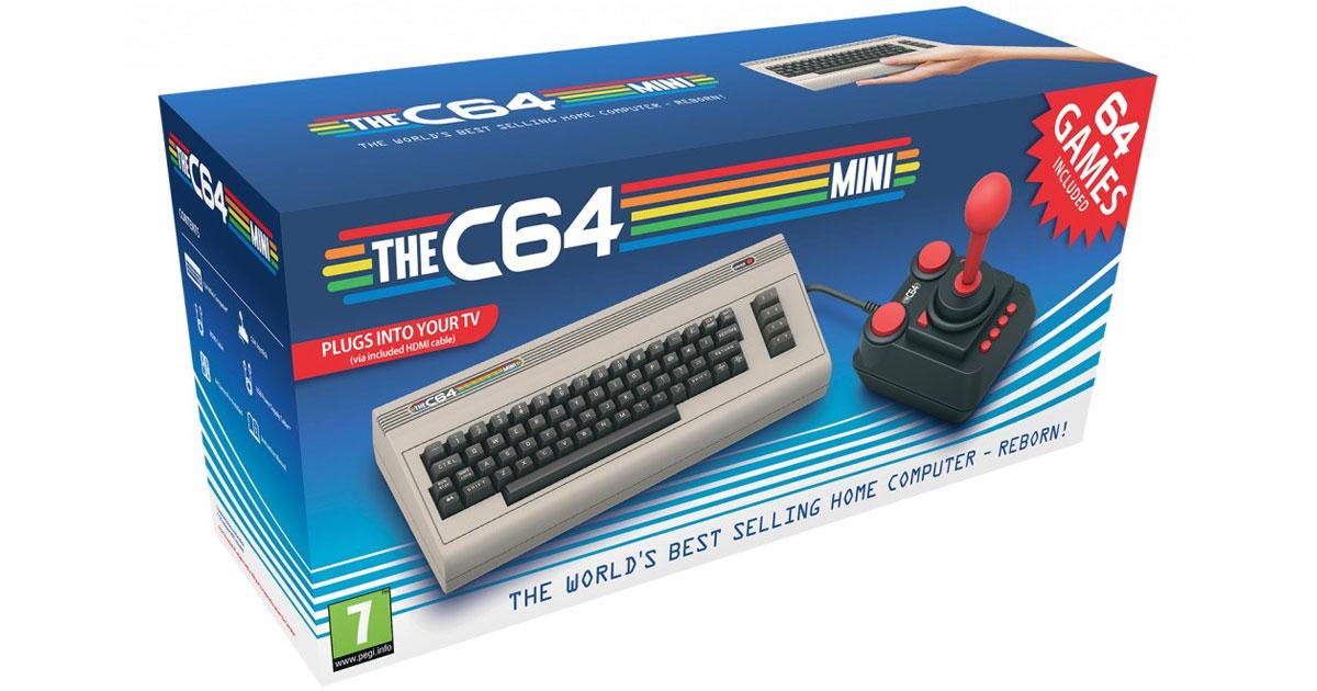 C64 Mini, a Retro Commodore 64 Gaming Console