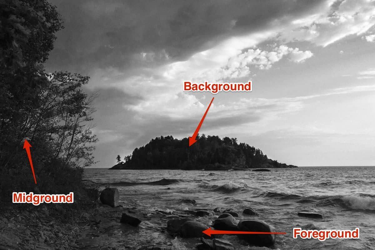 Adding depth in iPhone photos.