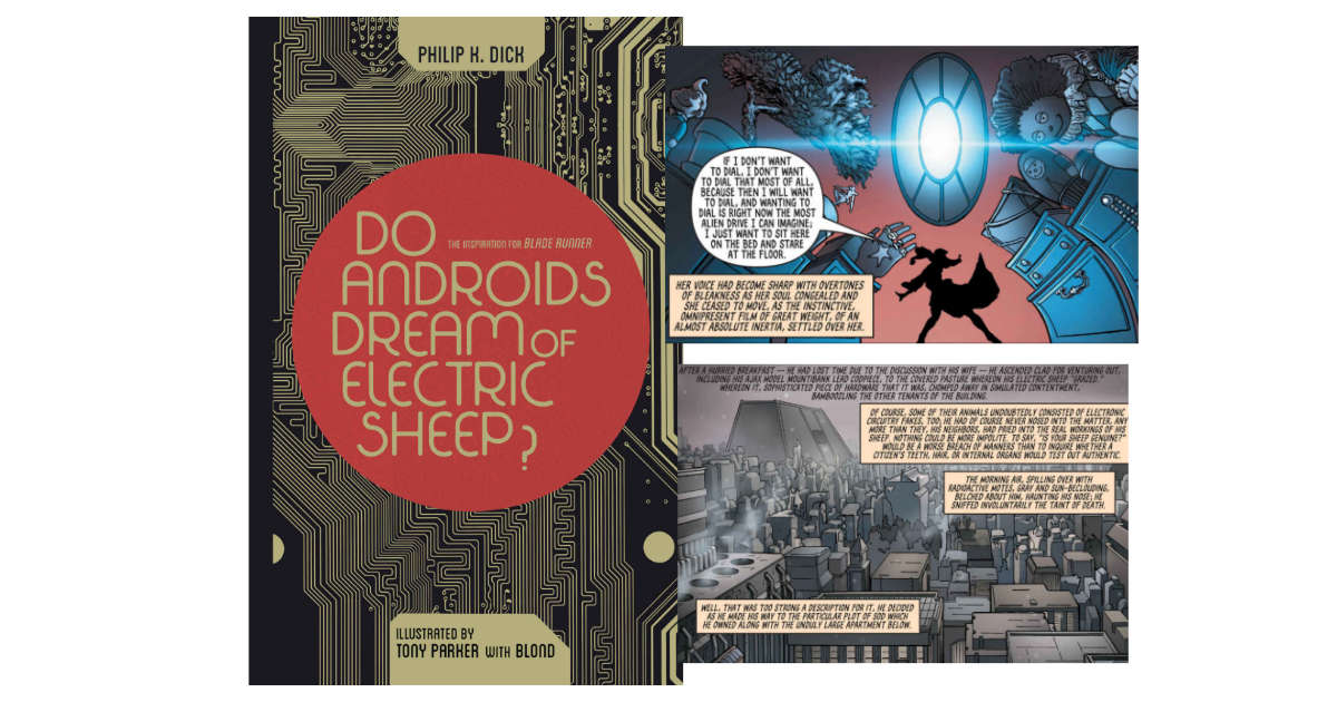Do Androids Dream of Electric Sheep Omnibus graphic novel