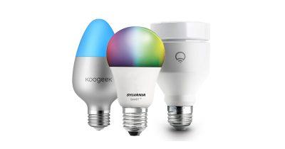 HomeKit smart light bulbs