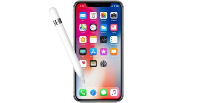 iPhone Apple Pencil stylus