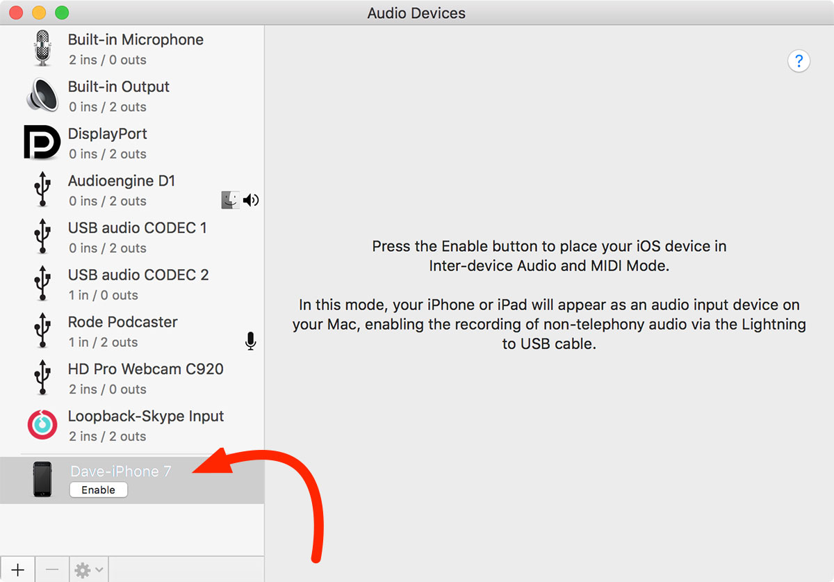 How to Use Your iPhone as an Audio Input on Your Mac - The