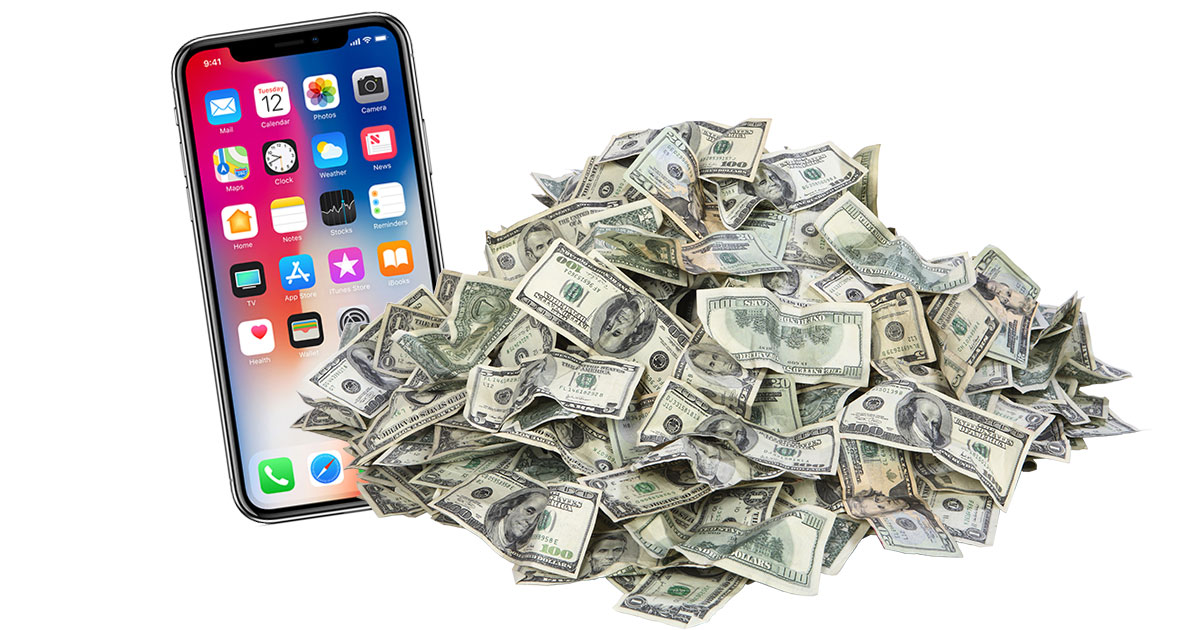 iPhone X Makes the Money