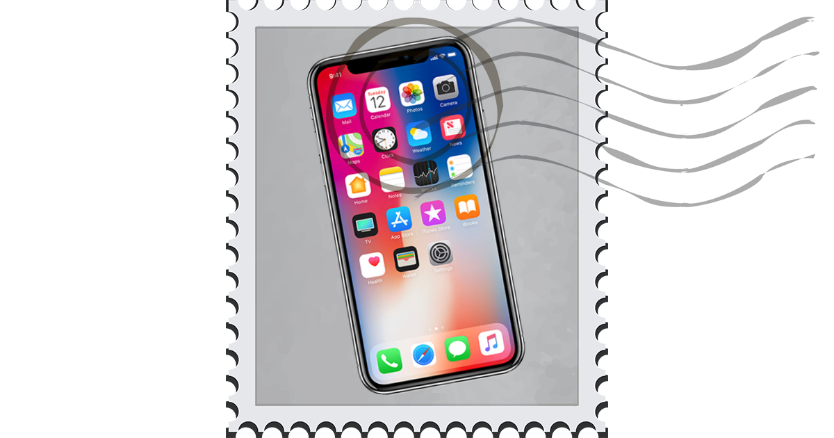 iPhone X tracking number