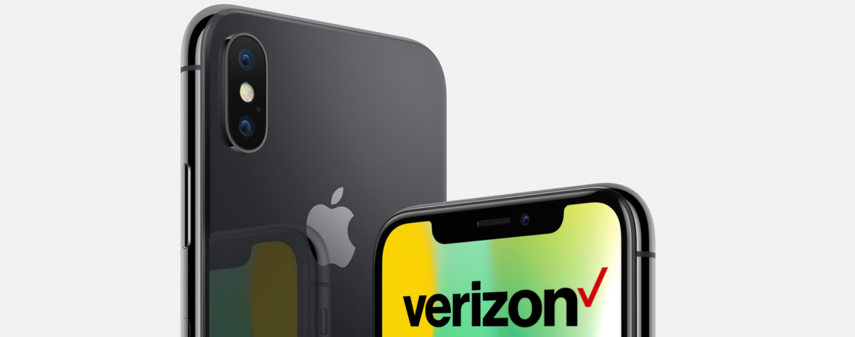 Get iPhone X Trade-In Credit with Verizon.