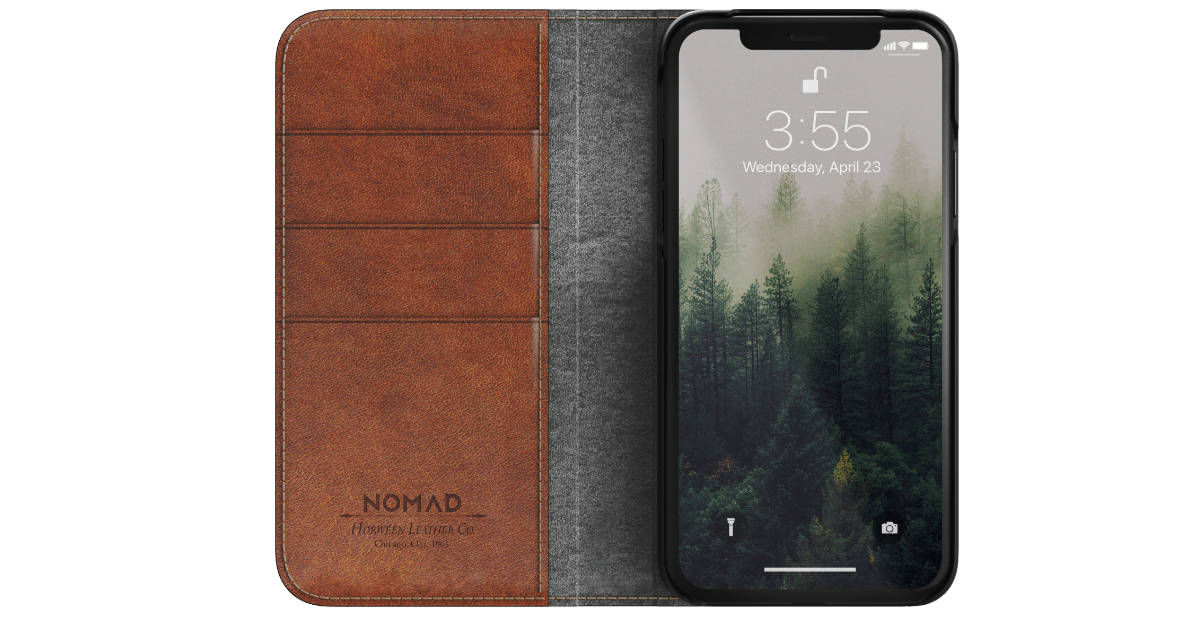 Nomad Leather Folio - X for iPhone X