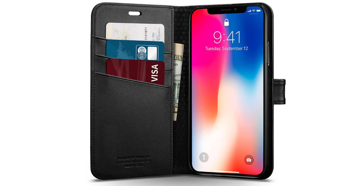 Spigen iPhone X Case Wallet S