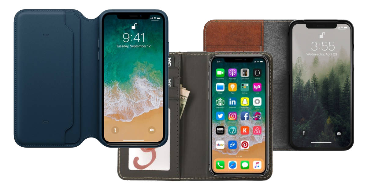 iPhone X wallet cases