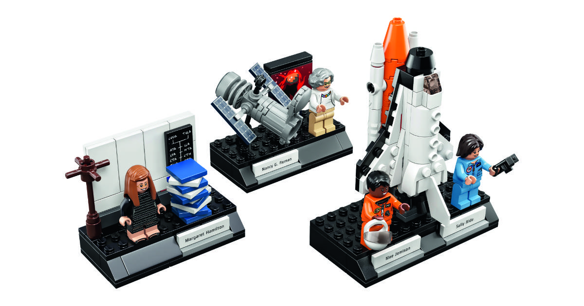 LEGO Women of NASA Kit Coming on Nov 1