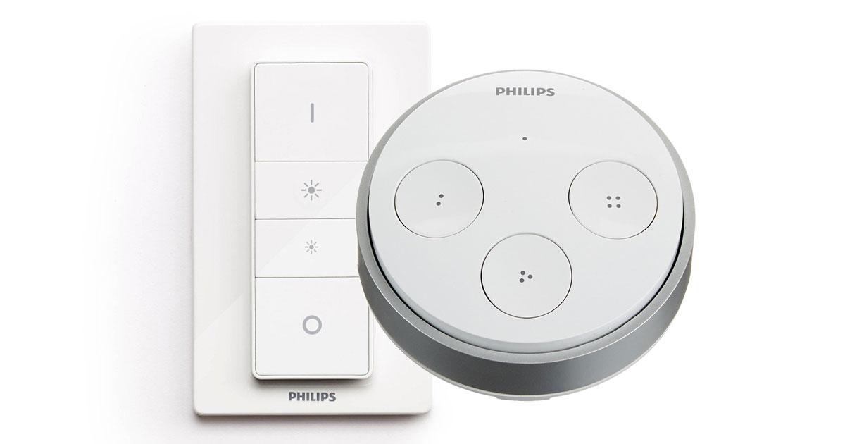 Philips Hue Dimmer Switch, Motion Sensor, Tap, Get HomeKit Support