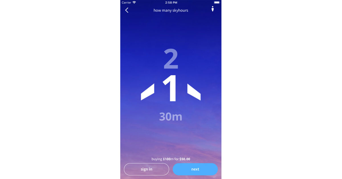 The Skyhour App Lets You Gift Air Travel By The Hour (on 350 Airlines)