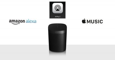 Sonos One with Amazon Alexa, Apple Music, and AirPlay 2