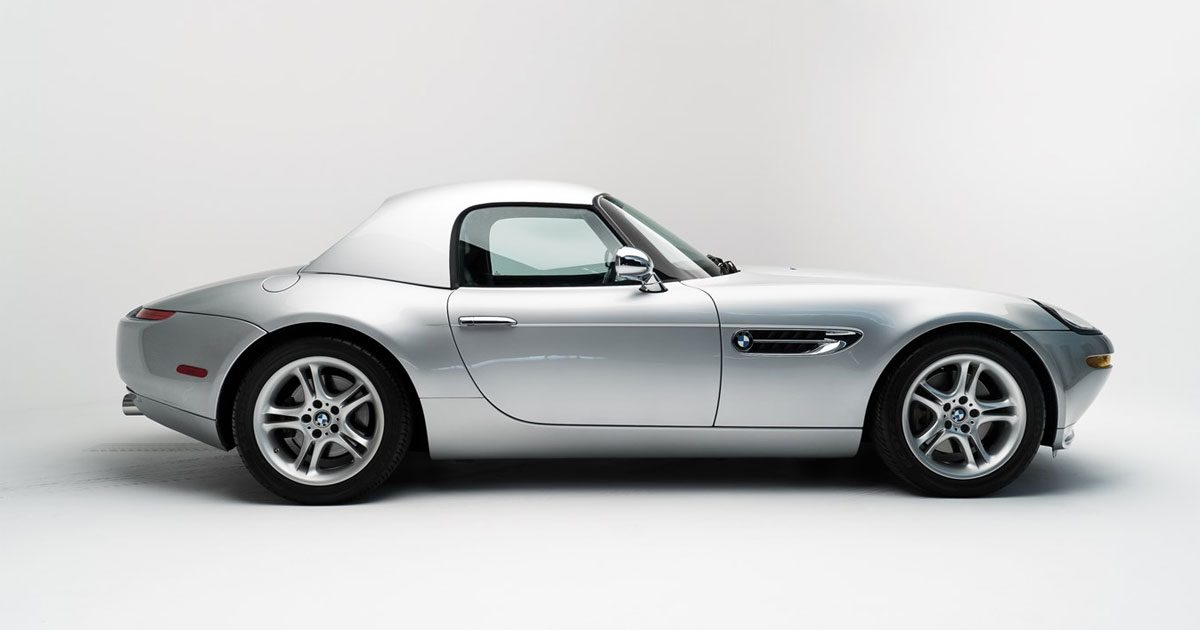 Steve Jobs's 2000 BMW Z8 (Courtesy of Sotheby's)