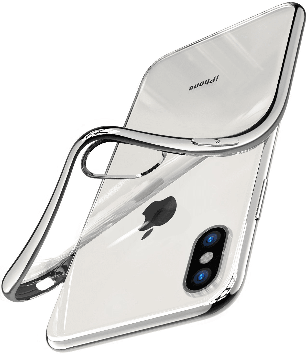 tozo clear iPhone X cases.