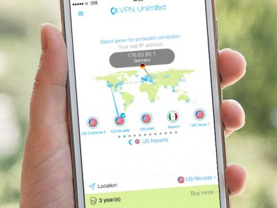 VPN Unlimited on a Smartphone