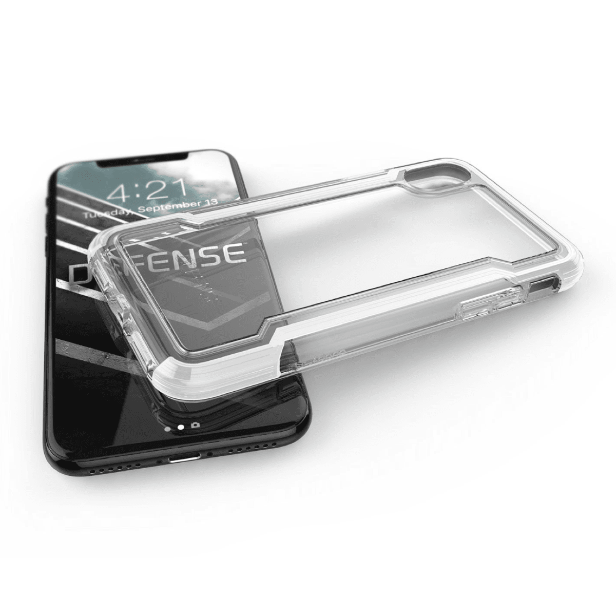 xdoria clear iPhone X cases.