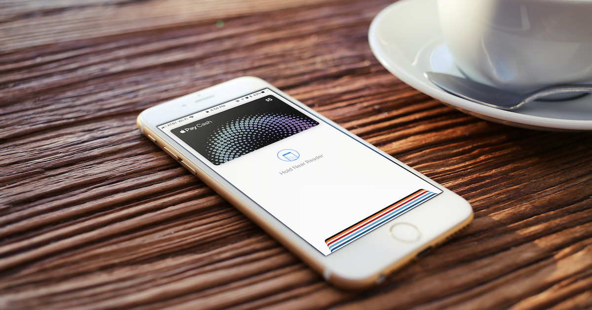 Apple Pay in Germany rolling out this fall. Image of Apple Pay Cash on iPhone.
