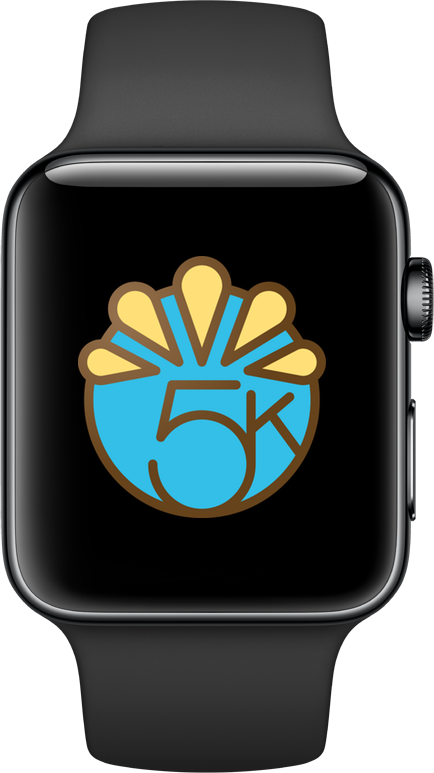 Image of the Apple Watch Thanksgiving Challenge badge.