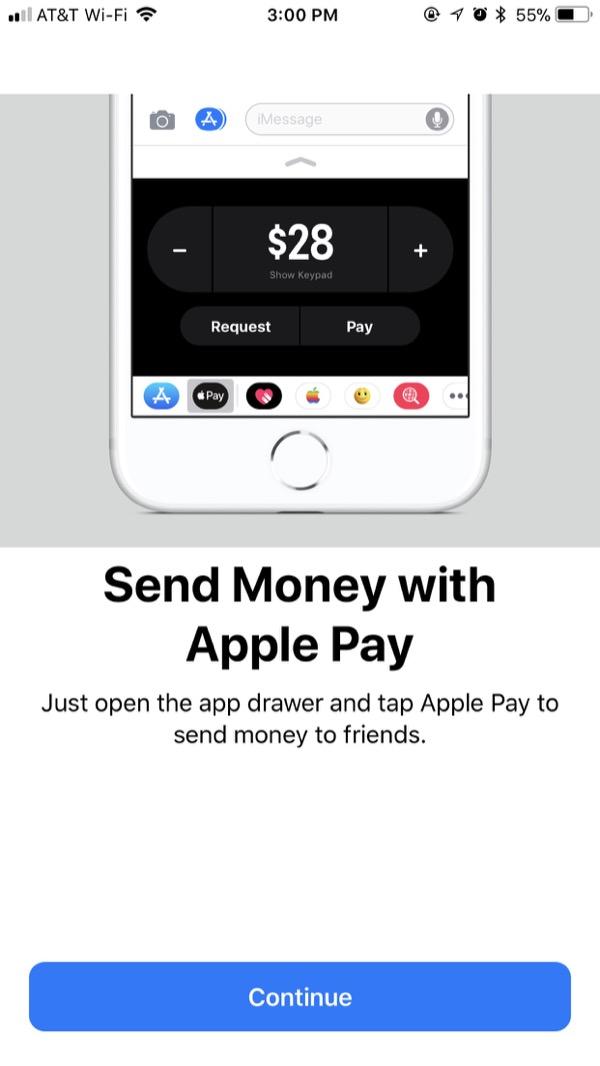 Apple Pay Cash - Using 1