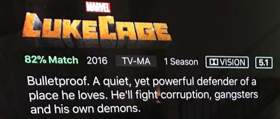 Netflix Dolby Vision label.