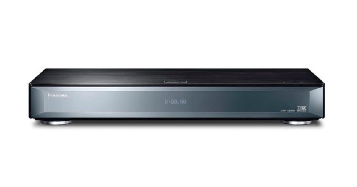 Panasonic UHD Blu-ray player.