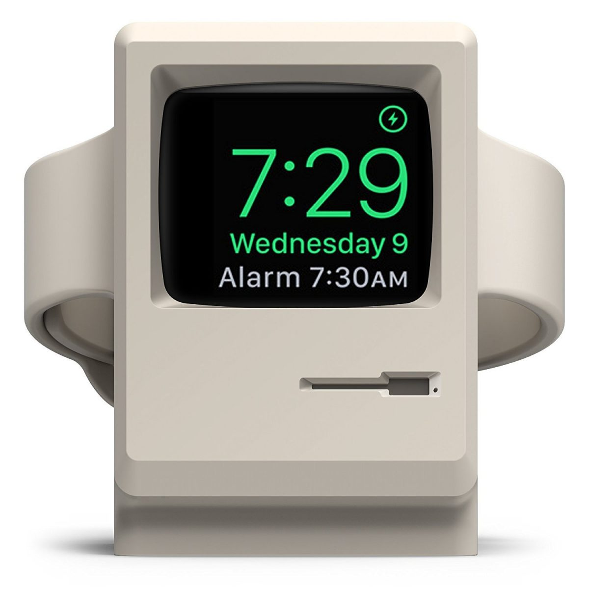 Put the fun back in functional with this clever Apple Watch charging stand.