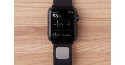 AliveCor Kardiaband EKG sensor band for Apple Watch