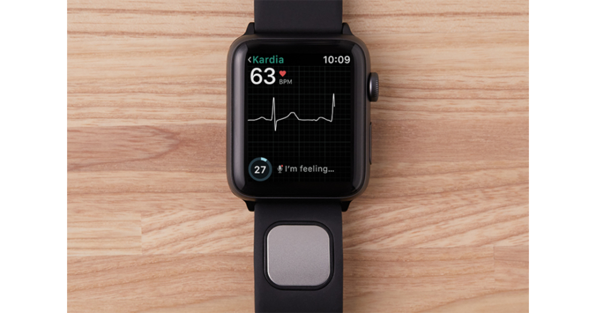 AliveCor Kardiaband EKG sensor band for Apple Watch