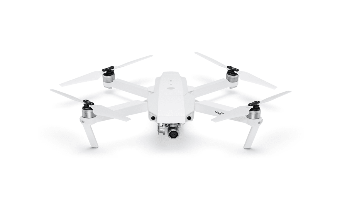 Image of the Alpine White Mavic Pro drone.