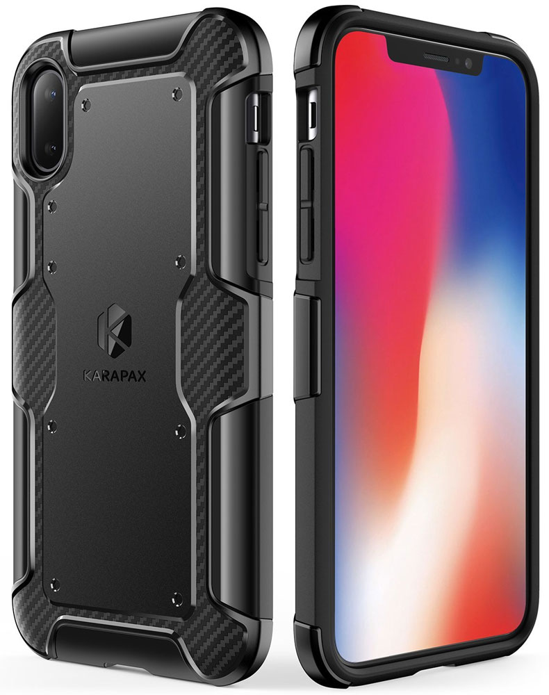 Anker KARAPAX Shield+ Case for iPhone X