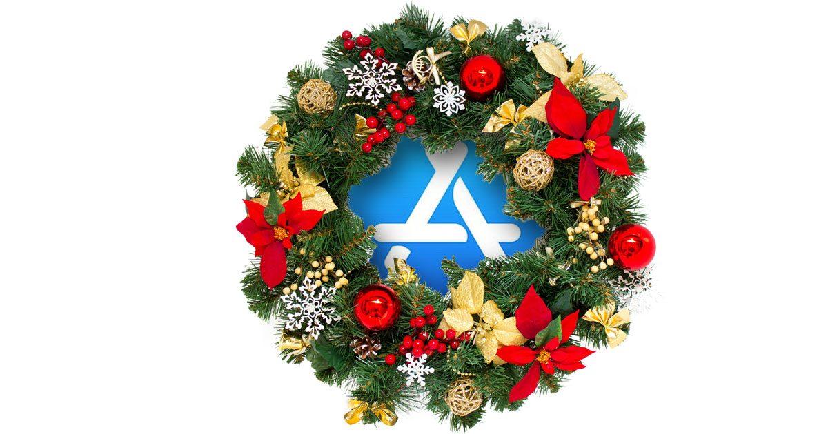 App Store Christmas Wreath