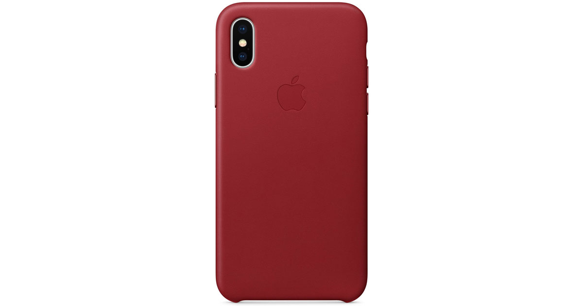 iPhone X Leather Case from Apple