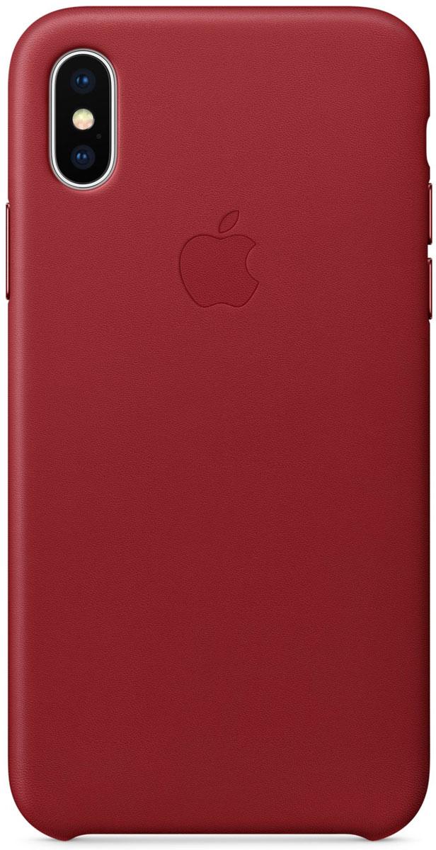 Apple iPhone X Leather Case