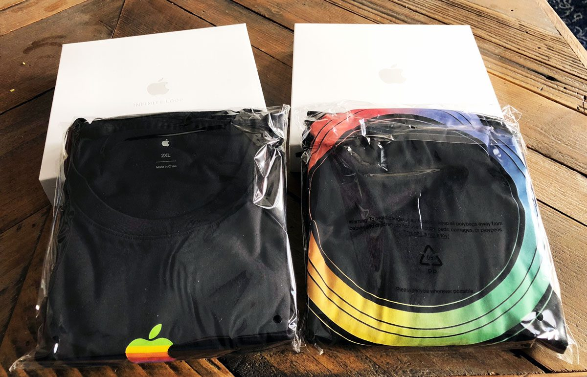 Apple Park Shirts in Boxes