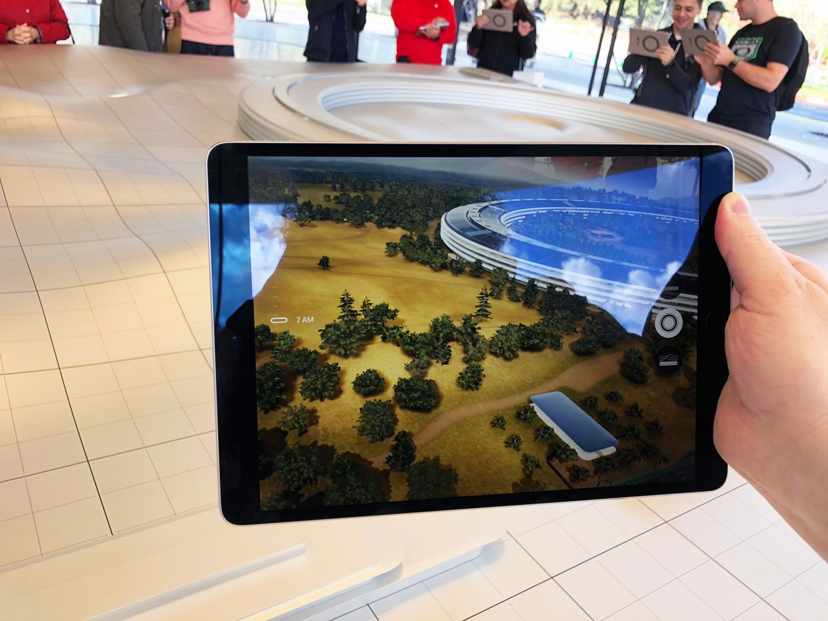 Apple Park Scale Model and Augmented Reality App