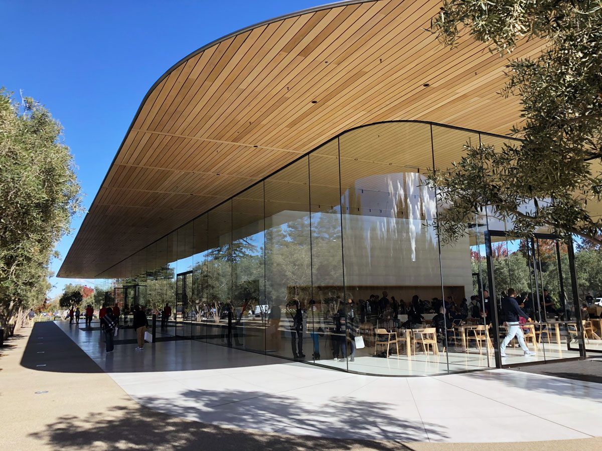 Apple Park Visitor's Center now open for general public