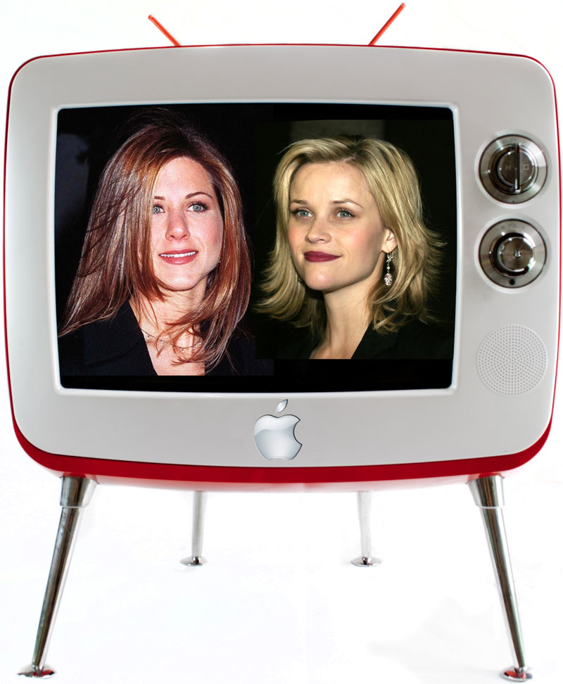 Jennifer Anniston and Reese Witherspoon coming to Apple TV