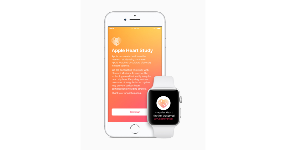 Apple and Stanford rate study
