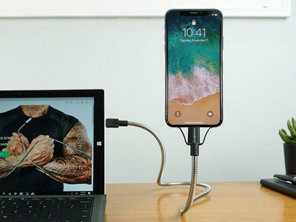 BOBINE FLEX Flexible iPhone Dock: $19.99 with Coupon Code