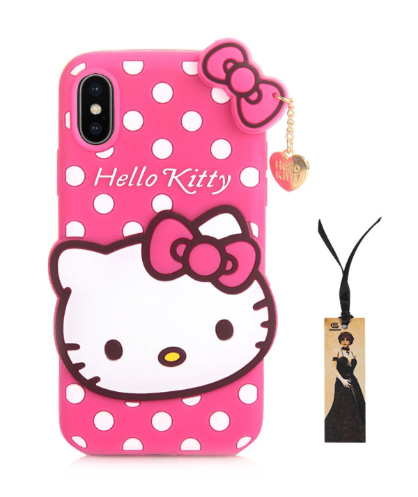 Caseophy Hello Kitty iPhone X bling cases.