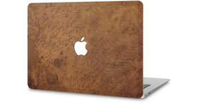 Redwood Burl Cover-Up for MacBook