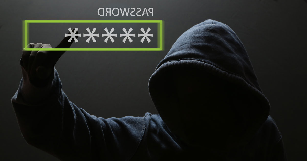 Unknown Criminal guessing your password