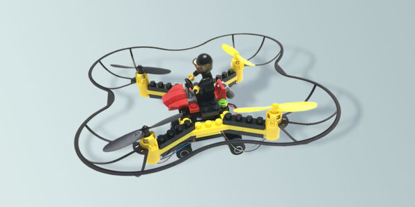 Here's a Force Flyers DIY Building Block Drone for $32.99